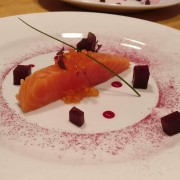 Salmon and Beetroot