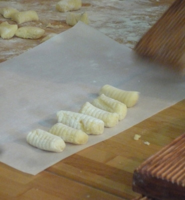 Gnocchi with a Goats Cheese Sauce